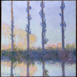 Claude Monet The Four Trees