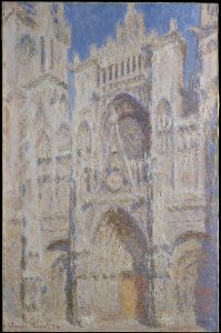 Claude Monet Rouen Cathedral The Portal Sunlight