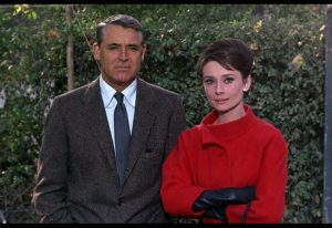 """Cary Grant with Audrey Hepburn - """"Charade"""", 1963"""