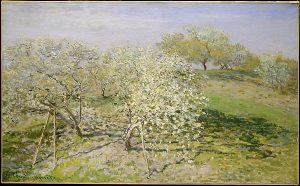 Claude Monet - Spring (Fruit Trees in Bloom)