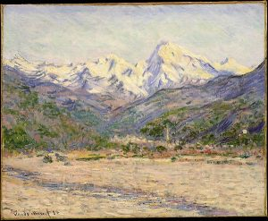 Claude Monet - The Valley of the Nervia